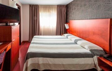 Habitación individual con cama doble Hotel Nuevo Torreluz
